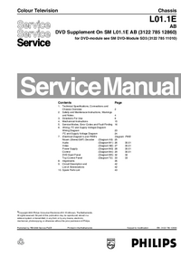 Руководство по техническому обслуживанию Philips L01.1E AB