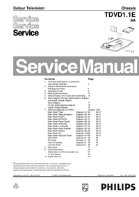 Service Manual Philips TDVD1.1E AA