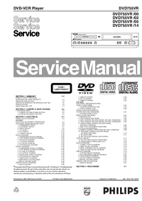 Service Manual Philips DVD755VR /00