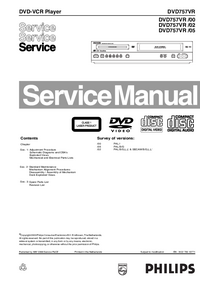 Service Manual Philips DVD757VR /02