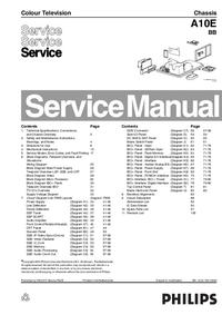 Manual de servicio Philips A10E BB
