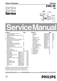 Service Manual Philips EM5.3E AA