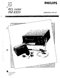 User Manual Philips PM 6303
