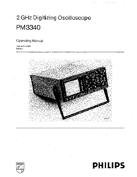 Manuale d'uso Philips PM3340