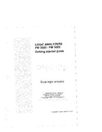User Manual Philips PM 3580