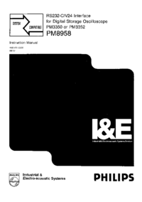 Servizio e manuale utente Philips PM8958