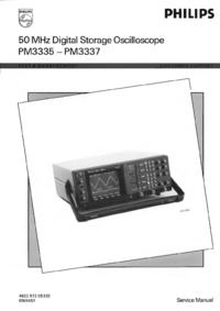 Service Manual Philips PM3335
