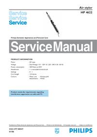 Instrukcja serwisowa Philips HP 4622