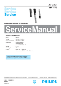 Service Manual Philips HP 4632