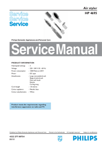 Service Manual Philips HP 4695