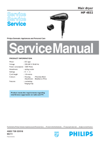 Service Manual Philips HP 4832