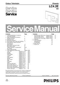 Serviceanleitung Philips LC4.2E AA