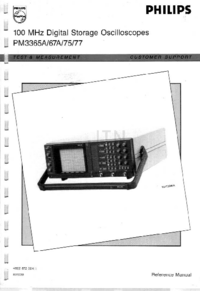 User Manual Philips PM3367A