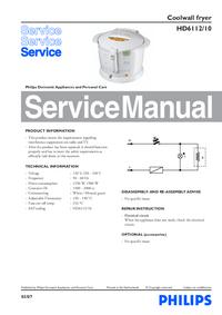 Service Manual Philips HD6112/10