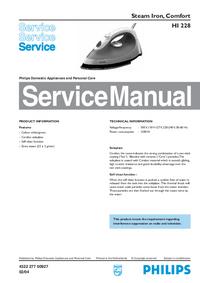 Manual de serviço Philips HI 228