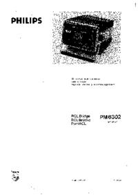 Servizio e manuale utente Philips PM6302