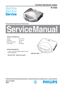 Service Manual Philips RI 4483
