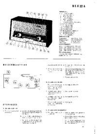 Service and User Manual Philips B5X22A