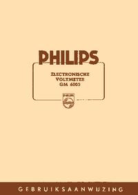 Руководство пользователя Philips GM 6005