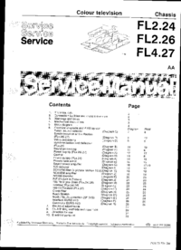 Manual de servicio Philips FL2.24