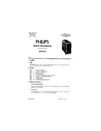 Servicehandboek Philips GM 5650