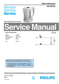 Service Manual Philips HD 4627