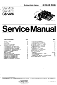 Service Manual Philips G90B