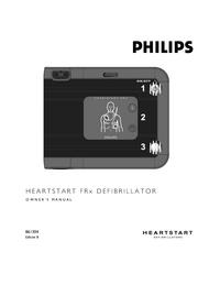 Manuale di servizio PhilipsMedical HEARTSTART FRx