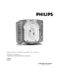 Manual de servicio PhilipsMedical HeartStart OnSite M5066A