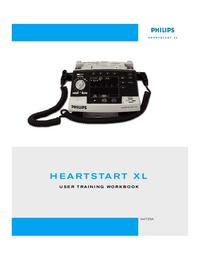 Manual do Usuário PhilipsMedical Heartstart XL M4735A