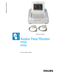 Service Manual PhilipsMedical Avalon FM30