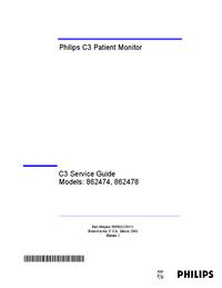 Instrukcja serwisowa PhilipsMedical C3 862474