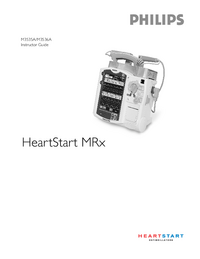 User Manual PhilipsMedical HeartStart MRx M3536A