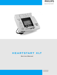 Service Manual PhilipsMedical M5500B Heartstart 4000