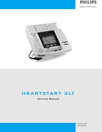 Manual de serviço PhilipsMedical M3500B HeartStart XLT/