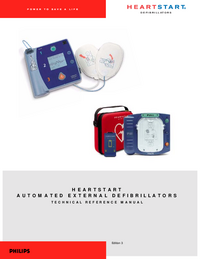 manuel de réparation PhilipsMedical Heartstream ForeRunner