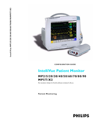 Manuale d'uso PhilipsMedical IntelliVue MP5T