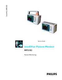 manuel de réparation PhilipsMedical IntelliVue X2