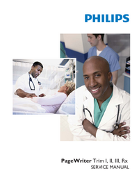 Manuale di servizio PhilipsMedical PageWriter Trim III