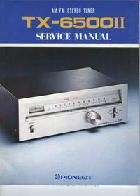 Service Manual Pioneer TX-6500II