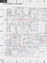 Cirquit Diagram Pioneer A-88X