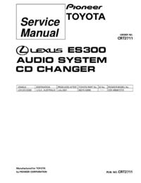 Manuale di servizio Pioneer CDX-M8067