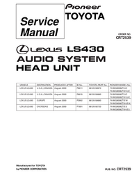 Manual de servicio Pioneer FX-MG9006ZT-91/EW