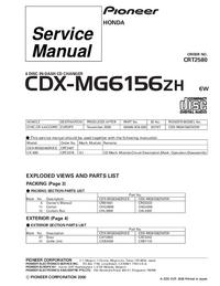 Service Manual Pioneer CDX-MG6446ZH