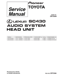 Service Manual Pioneer FX-MG8217ZT-91/UC