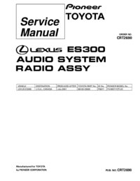 Service Manual Pioneer FX-M8717ZT-91