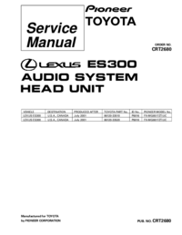 Service Manual Pioneer FX-MG8817ZT