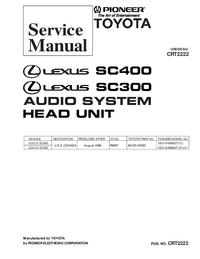 Instrukcja serwisowa Pioneer KEX-M8886ZT/UC