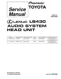 Manual de servicio Pioneer FX-MG9106ZT-91/EW
