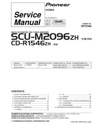 Service Manual Pioneer CD-R1546ZH